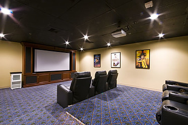 Watch a movie in our movie theater at Catalina Community.